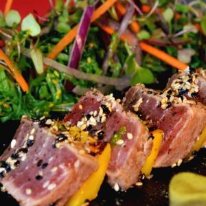 Restaurante Firmvm Almuñecar. Tataki de Atún.